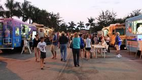 Food Truck Invasion, the best of food trucks in South Florida. Check out mobile food truck events & schedule a corporate lunch catering in your part of town.  http://www.dailymotion.com/video/x33ymmk_mobile-food-trucks-events-catering-service-miami_lifestyle