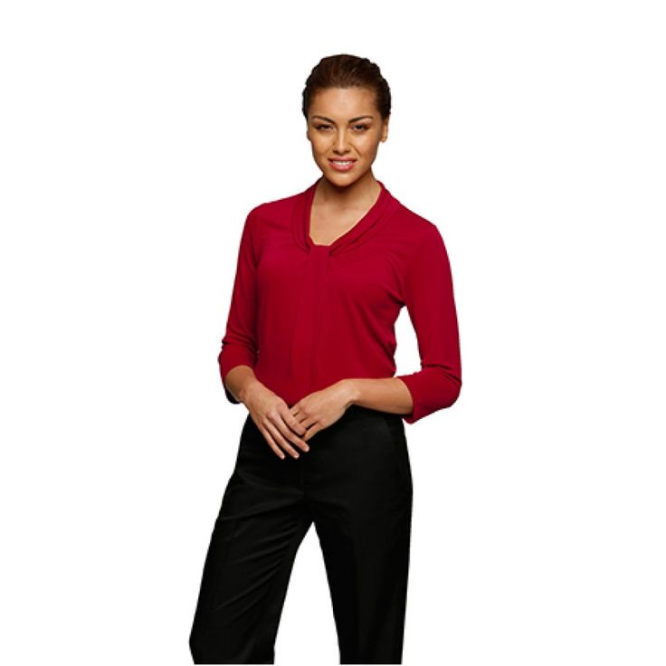City Collection Pippa 3/4 Sleeve Top – 2221