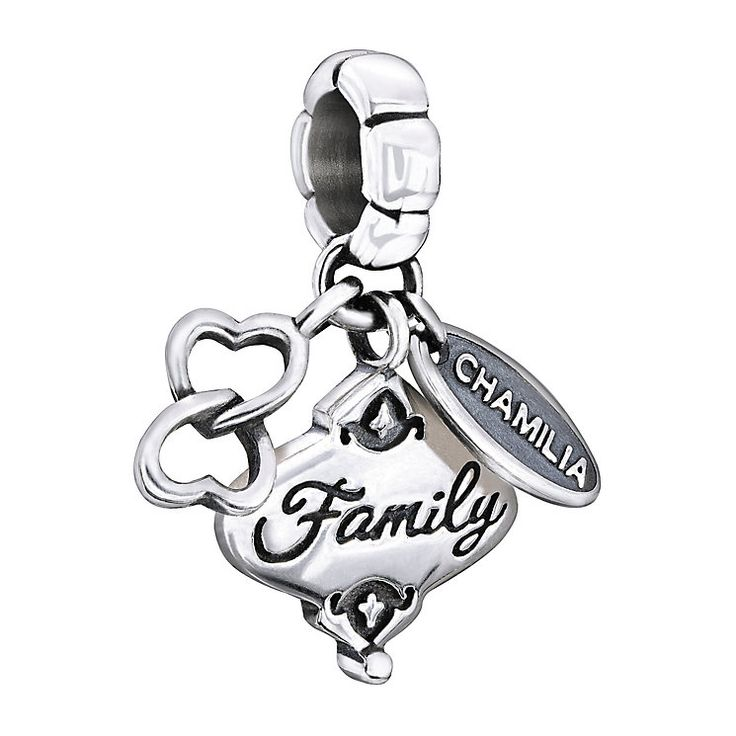 Chamilia Sterling Silver Her Gift Of Family Charm Bead - Product number 1600370