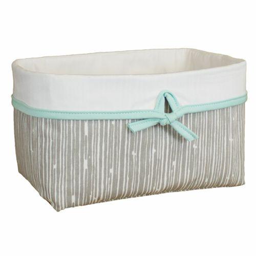 Sweet Kyla - GREY DEER Soft Nursery Basket - Bark Fabric, $34.99 (http://www.sweetkyla.com/grey-deer-soft-nursery-basket-bark-fabric/)