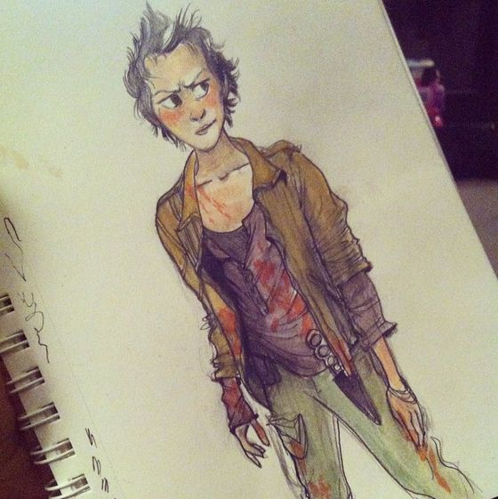 instagram amanda macfarlane (@theanimatedlife) - carol from walking dead