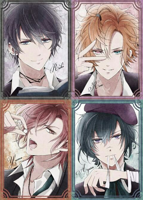 Diabolik Lovers - The Mukami Brothers
