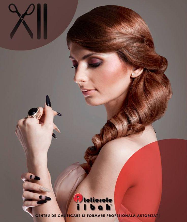 Create a beautiful evening look with Atelierele ILBAH.