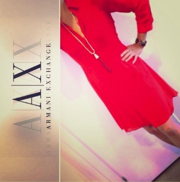 Vestido Armani Rojo