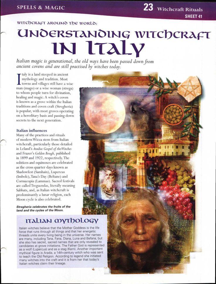 Witchcraft Around the World: Understanding Witchcraft in Italy