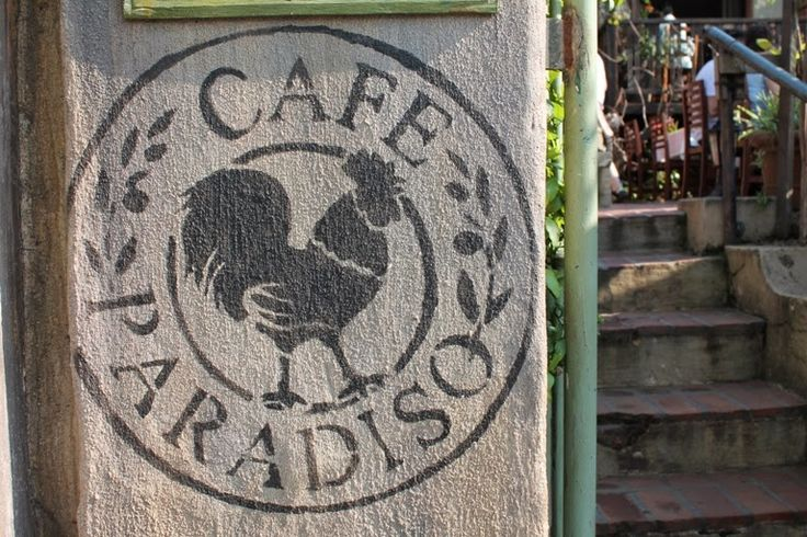A Gorgeous Life: Cafe Paradiso   Cape Town