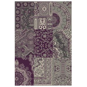 Rug Purple Grey 280x190, 75€, now featured on Fab.
