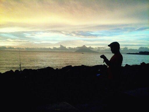 Sunset @ Kawasan