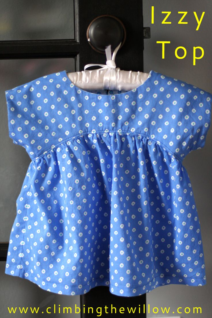 It seems that for me Kids Clothes Week = free pattern. In April, I drew up the Lola Dress which led to the first free pattern on this blog....