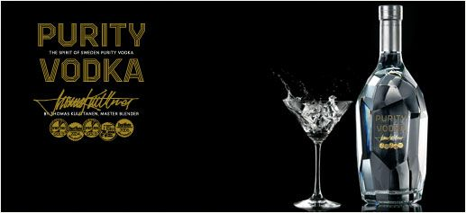 Purity Vodka    Purity Vodka nace en Ellinge Castle, un maravilloso enclave del siglo XIII en el sur de Suecia, de donde proviene la fórmula secreta de Purity. Su carácter se consigue mediante el trigo de invierno y la cebada cultivados orgánicamente y el uso de agua de manantial. A diferencia de los demás vodkas, Purity mantiene un 30% del agua sin desmineralizar, lo que permite mantener los minerales y hierro del agua original del manantial.    http://www.sibaritissimo.com/purity-vodka…