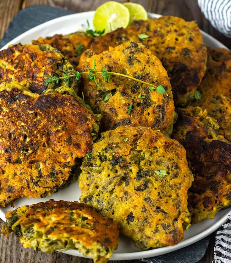 jamaican callaloo fritters  healthier steps in 2020