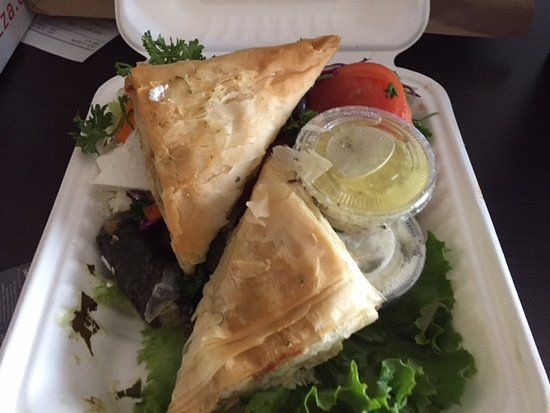 Greek appetizer selection, delivered to hotel, Santa Lucia Pizza Winnipeg 4 St Mary'