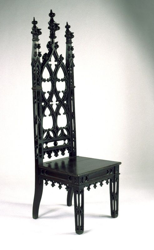 17 best images about gothic revival furniture and for Victorian furniture plans