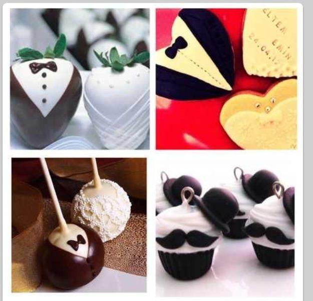 Prefect wedding desserts: wedding ideas : mr and mrs desserts