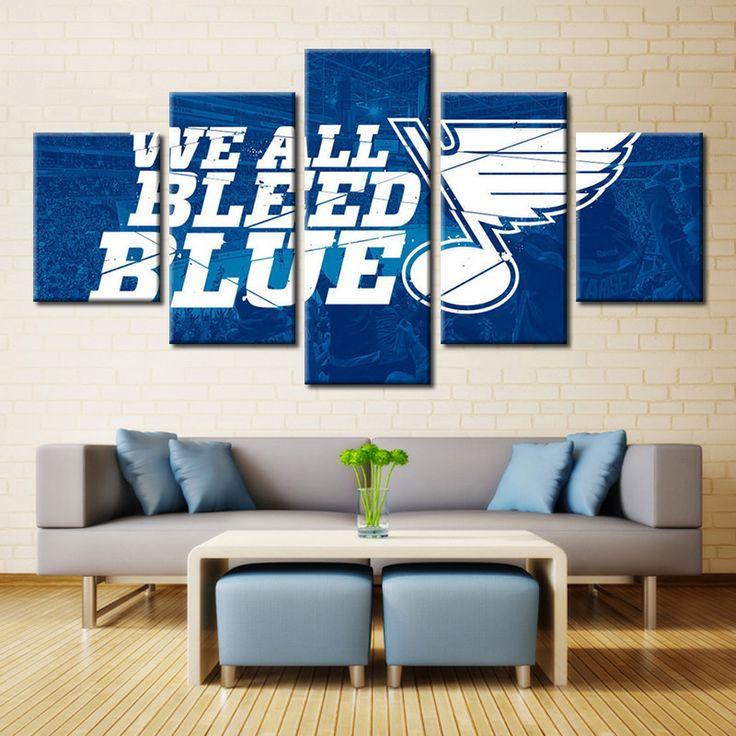 St. Louis Blues NHL Logo Art