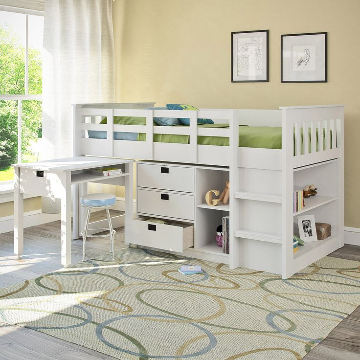 Bunk Bed Decorating Ideas: Best 25+ Bunk Bed With Desk Ideas On Pinterest