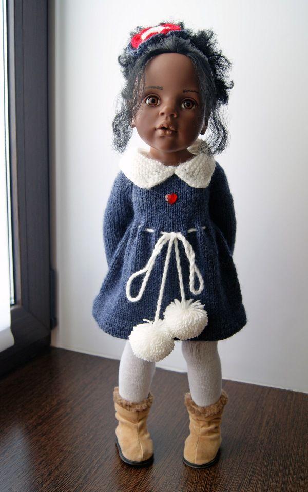 №1 В комплекте: платье, резинка для волос, колготки связано из нежной детской пряжи (100% акрил) цена 950 №2 В комплекте: / 700р