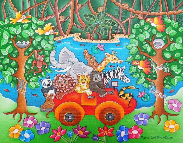 Le safari des animaux