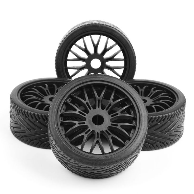 21.99$  Buy now - http://ali20w.shopchina.info/1/go.php?t=32810240932 - 1:10 Off-Road Flat Off Road Tires Wheel Rims HPI HSP Traxxas 1:8 RC Car Buggy 17mm hex  #aliexpressideas