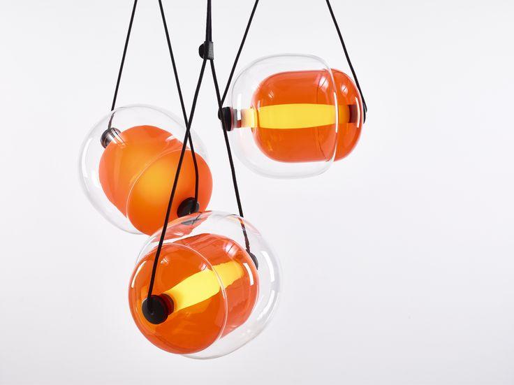 CAPSULA by Lucie Koldova  Brokis - interior - light - design - orange.