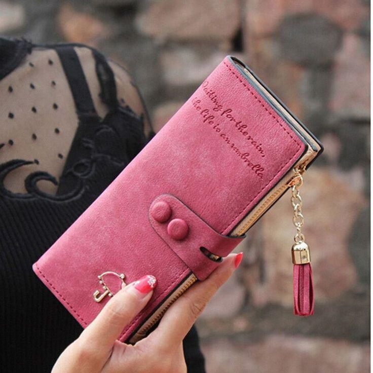 2015 Women Long Wallet Multi-functional Umbrella Zipper ...