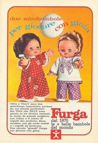 Vintage Furga Tina e Tilly Ads