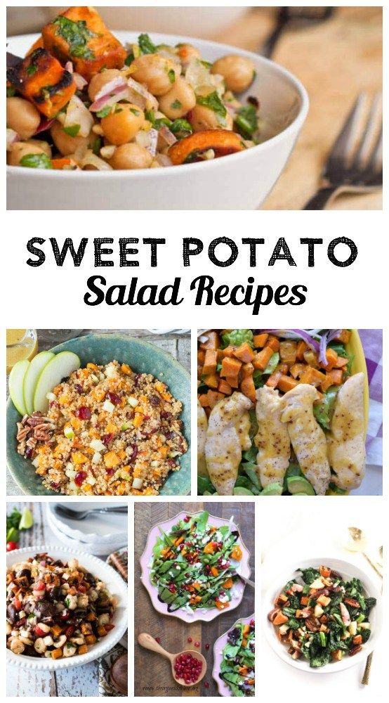 The best Sweet Potato Salad Recipes, all gathered together right here in one convenient place!