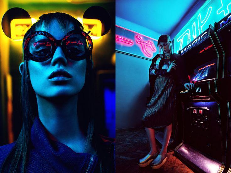 | Photographer & Concept: Edina Csoboth | Wardrobe Styling: Peter Frak | Hair Stylist: Viktoria S. Toth (Hob) | Make-up Artist: Eszter Galambos (L'école) | Model: Berta (Attractive) | Photo Assistant: Zsofi Jambor | Styling Assistant: Elliot Parker |