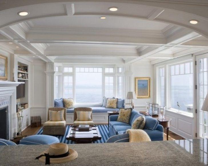 White Cape Cod Beach House Design Home Bunch An Interior Design