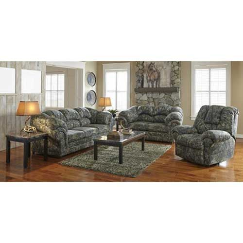 woodhaven cheyenne 7 piece living room group in camouflage tammie pinterest camouflage. Black Bedroom Furniture Sets. Home Design Ideas