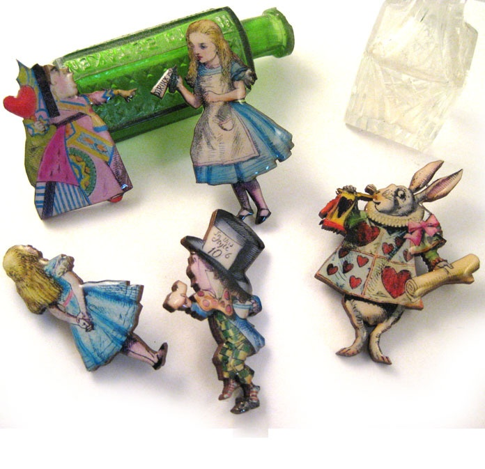 Alice Brooches