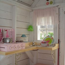 1000 images about girls playhouse ideas on pinterest for Interior playhouse designs