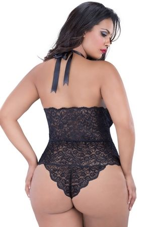 Bbw in sexy lingerie