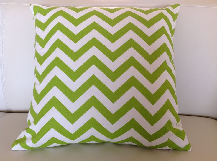 Zig Zag Cushions, Chevron Design Pillows Modern Cushion Covers Green, Orange, Pink, Black, Turquoise Blue, Navy, Purple, Red, Yellow Cushion by IslandHomeEmporium on Etsy