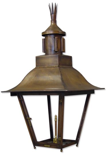 This light was originally a custom design for the Napoleon House Restaurant in New Orleans. Solid copper available in gas or electric.  sc 1 st  Pinterest & 8 best Moss Outdoor Lighting images on Pinterest | Outdoor ... azcodes.com