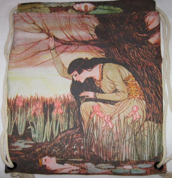 Marsh Kings Daughter 1922 Backpack/tote canvas by Craftyscientists