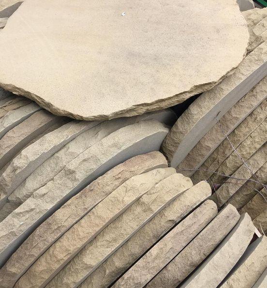 Sandstone steppers - RocknStone