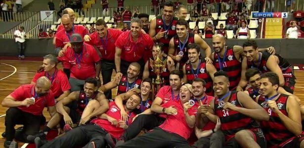 Vasco não entra em quadra e Flamengo é campeão carioca de basquete