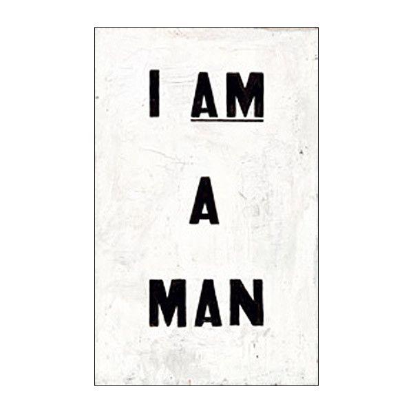Glenn Ligon 'I AM A MAN' Journal