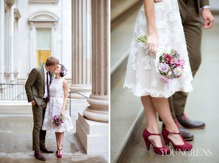 New York Courthouse Wedding, Photography by The Youngrens