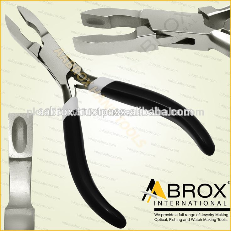 Model Number: AI-PP-110  Stainless Steel Jump Ring Piercing Pliers Features Box-Joint Construction. Double Leaf Springs. PVC Grip Handles. Size: 13 X 5.5 X 0.5cm. Weight: 76 gram (approx.). Large Axle to assure alignment while working. This Pliers is best for Bead Workers, Wire Wrap Artists, Traditional Jewellery Making, Beading and other fine Hobby Work.