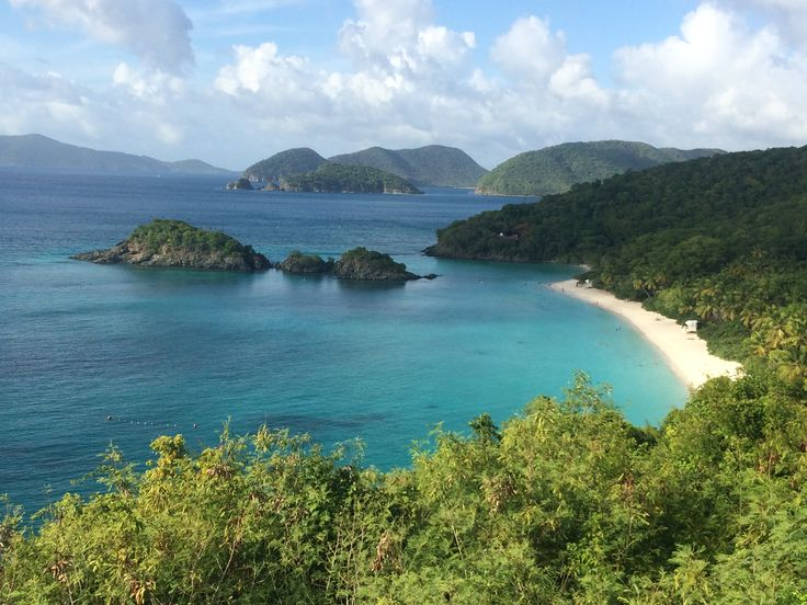 Trunk Bay, St. John.  US Virgin Islands