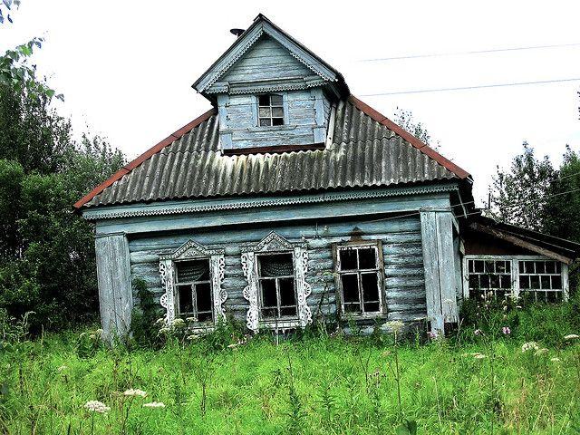 IMG_1135 An Abandoned Izba in Tiliktino (Тиликтино) | Flickr - Photo Sharing!
