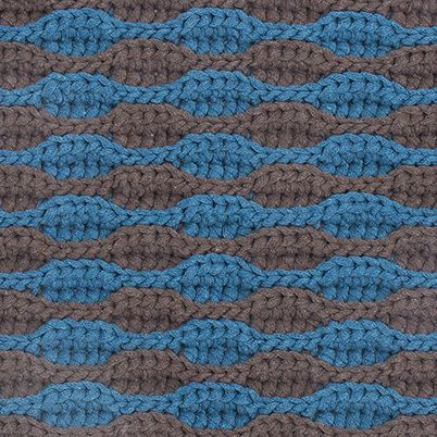 Free Pattern: Ripples and Waves Doormat
