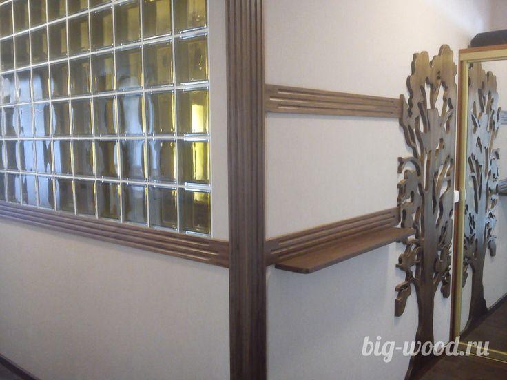 Декоративные элементы интерьера, массив дуба