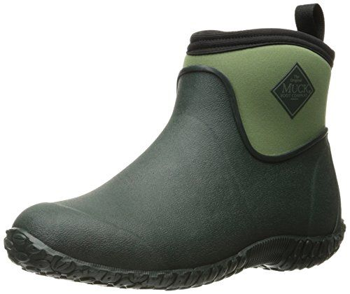 Muck Boot Women's Muckster 2 Ankle Snow, Green, 8 M US... The all-purpose shoe that started it all now comes in a true women's last offering an even greater fit for all day comfort. These light shoes will keep your feet warm and dry on those cool, wet mornings. This classic offers a new high traction, rubber outsole and even better contact with wet......http://bit.ly/2rDf78A