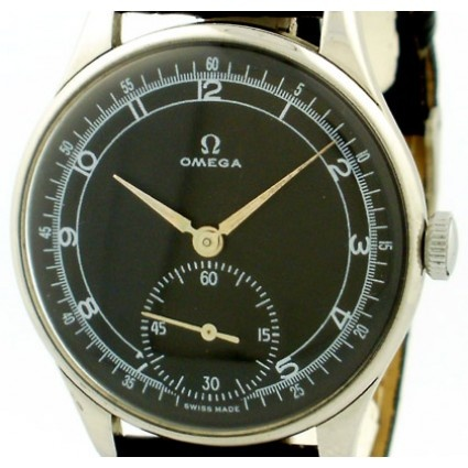 Omega 1944 Vintage 30T2 Stainless Steel Manual Men's Watch, Ref. 2890-3