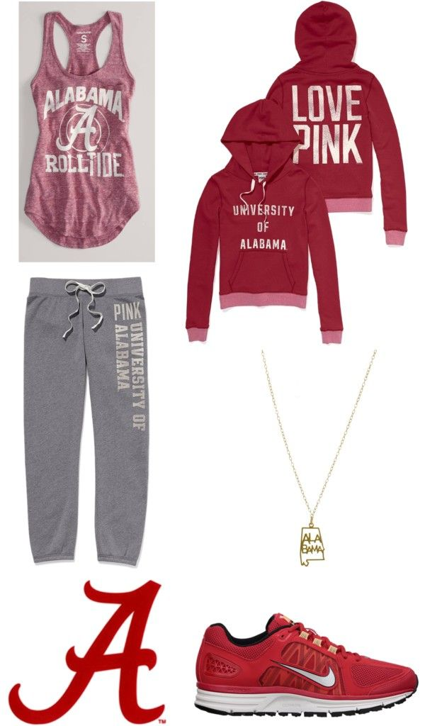 """""""ROLL TIDE ROLL!!!! heheh..."""" by cupcakeeater1 ❤ liked on Polyvore"""