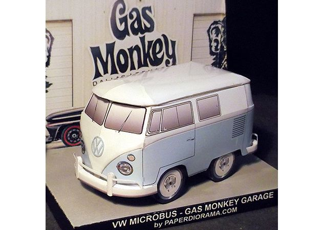 Papercraft vehicles m h nh gi y xe c 22 for Garage volkswagen 95
