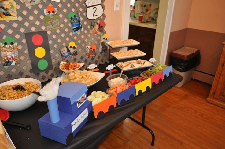 Planes, Trains, and Automobiles Birthday Party Ideas | Photo 1 of 41 | Catch My Party